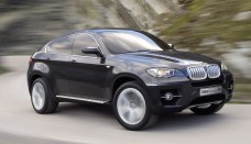 Black Hard Muscles Body of New 2012 BMW X6 Desktop Backgrounds