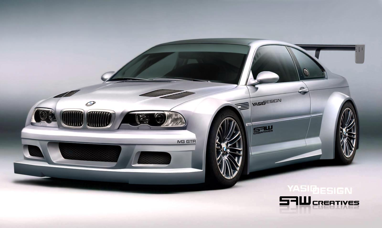 BMW M3 GTR by Yasid Design Wallpapers For PC Desktop