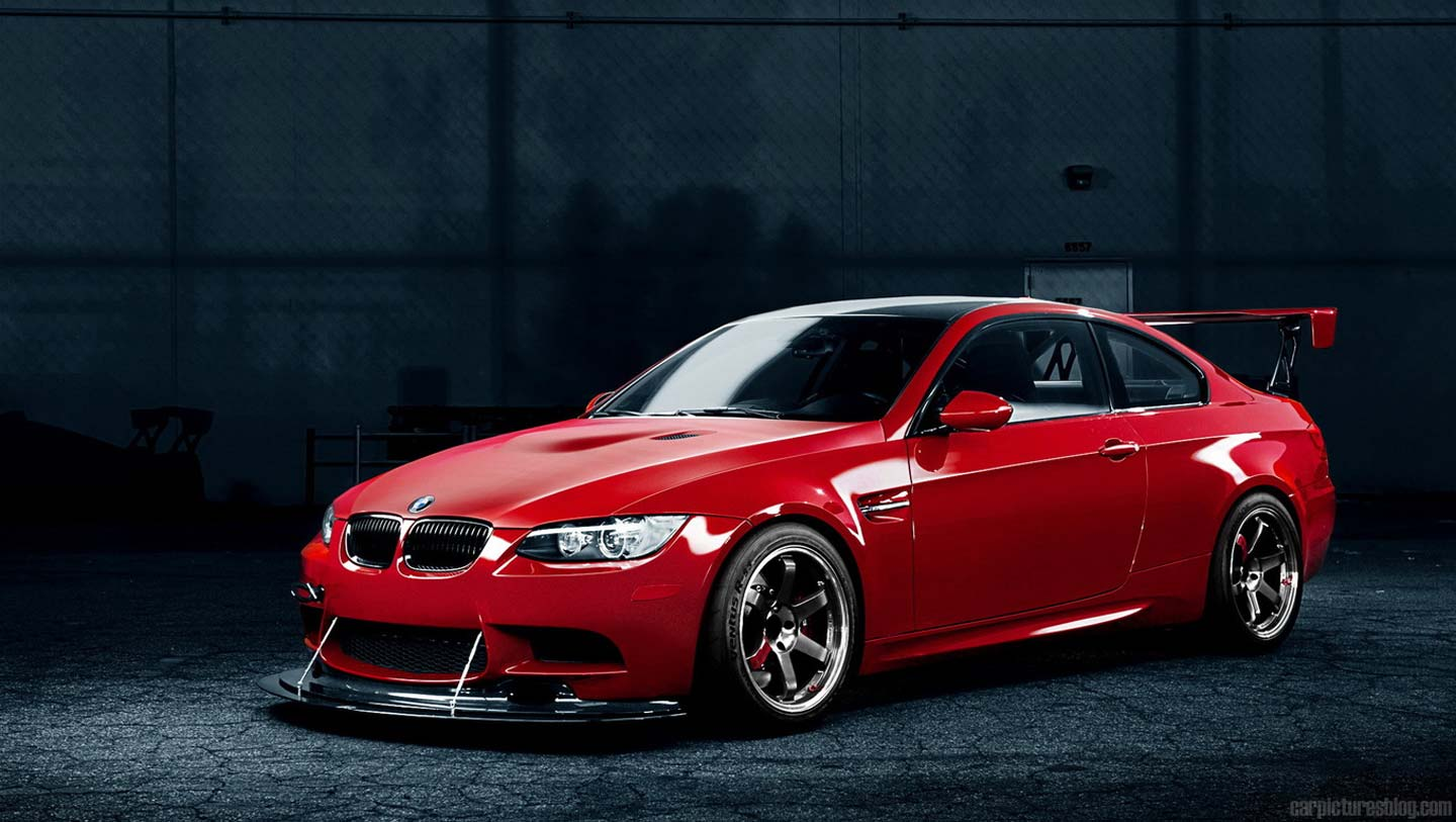 BMW M3 Modified Red Desktop Backgrounds