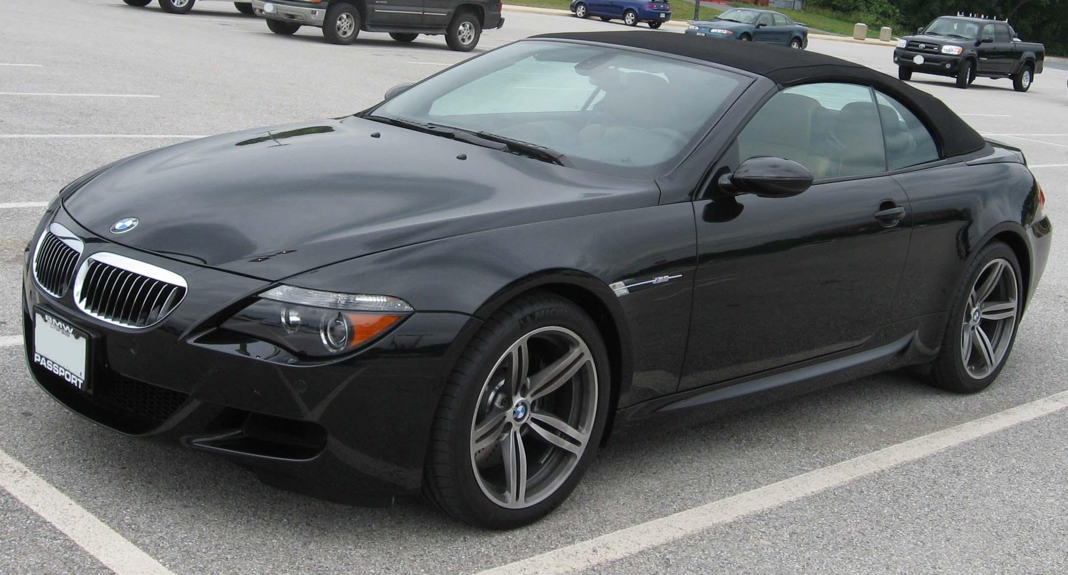 BMW M6 E64 Desktop Backgrounds