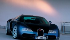 Bugatti EB 16 4 Veyron Study Blue Front Wallpapers For Ios