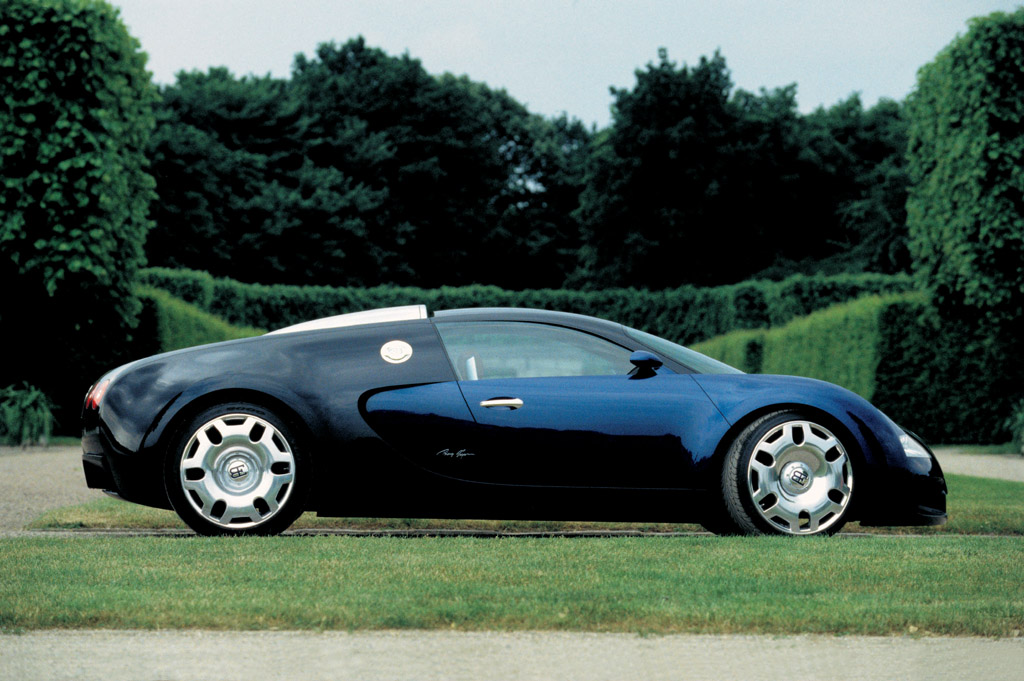 Bugatti EB 18 4 Veyron Study Side Wallpaper Desktop Download