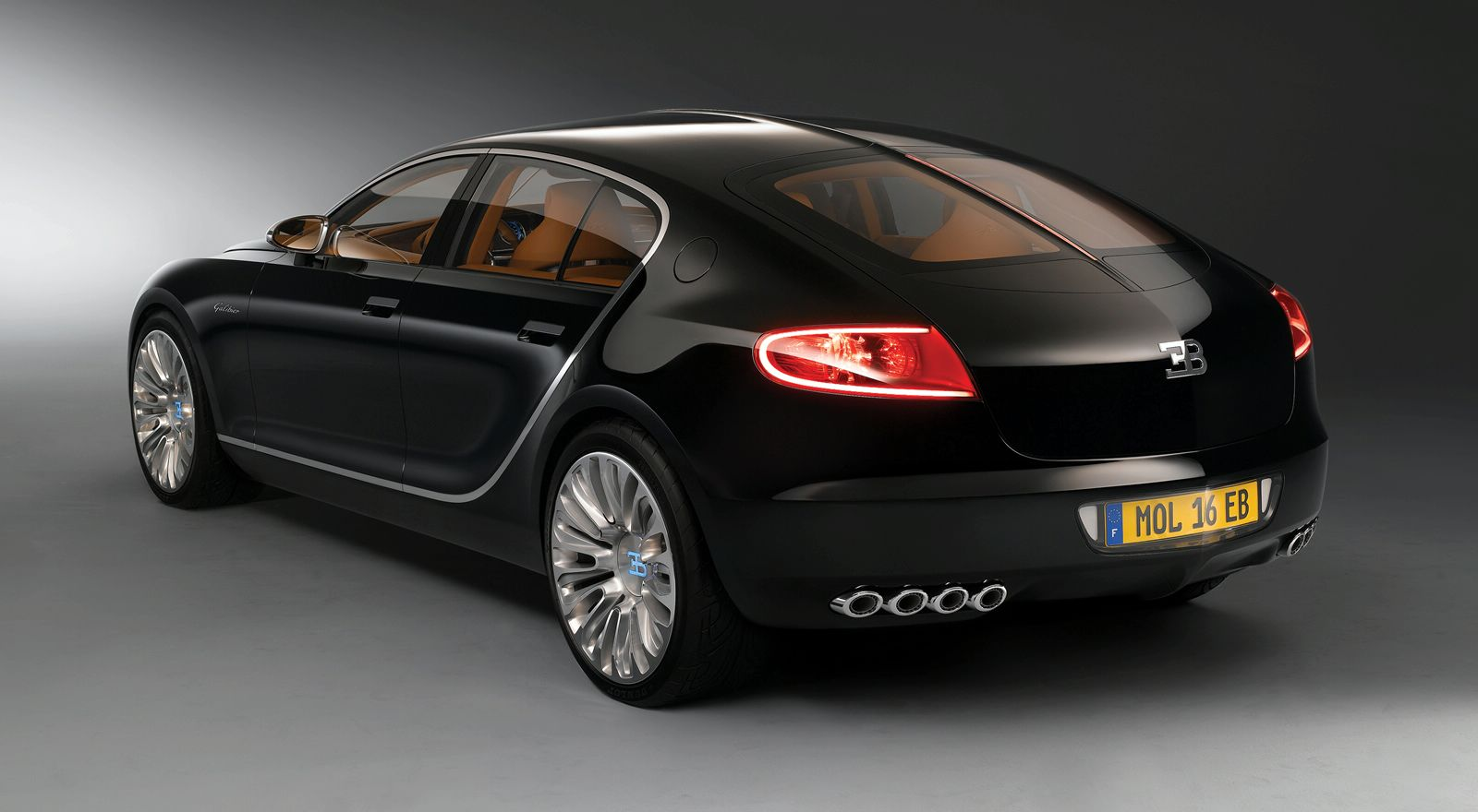 Bugatti Galibier Rear Three Quarters Wallpaper HD