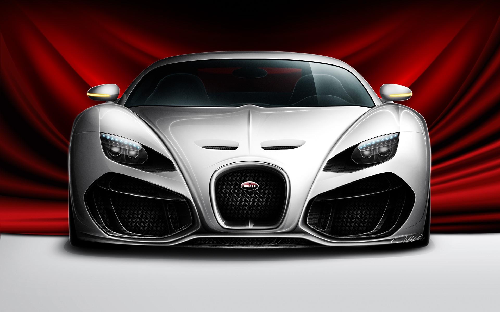 Bugatti Venom Wallpaper HD Free