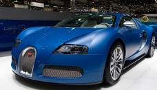 Bugatti Veyron 16.4 Bleu Centenaire High Resolution Image Wallpapers HD