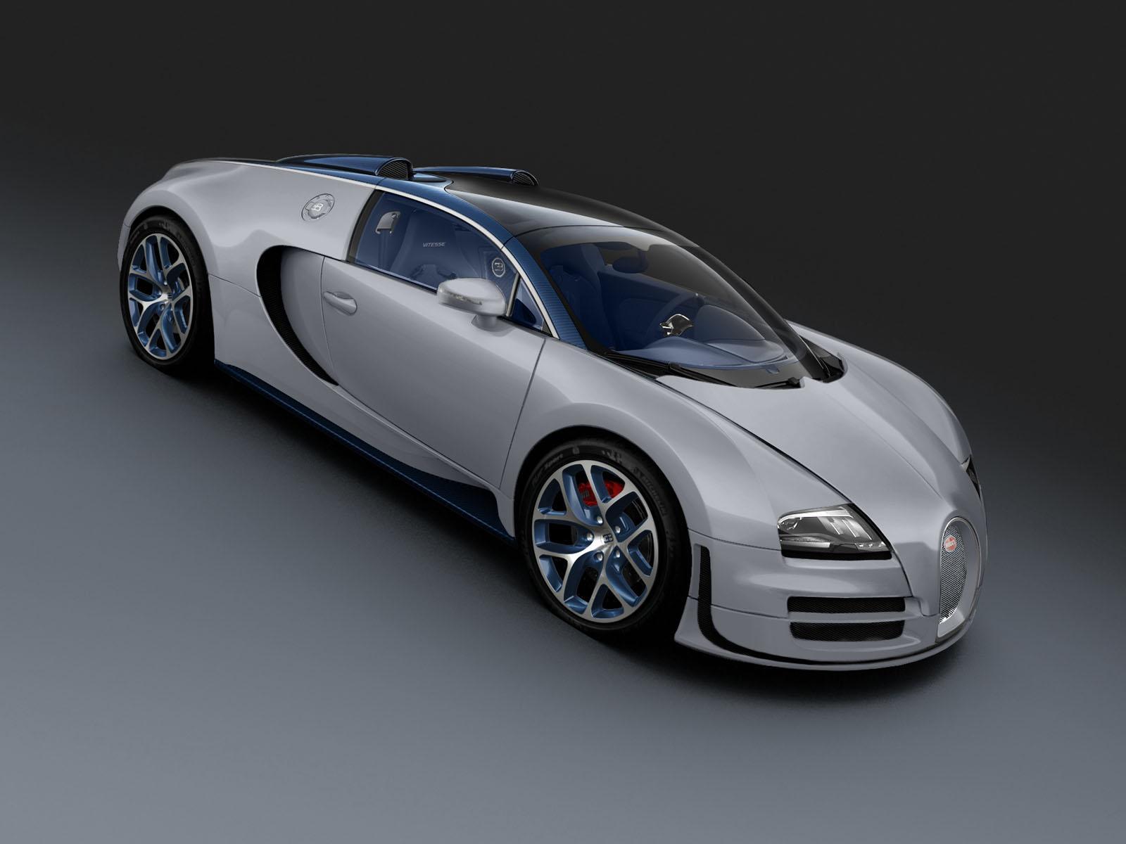 Bugatti Veyron 16.4 Grand Sport Vitesse Rafale Edition Desktop Background