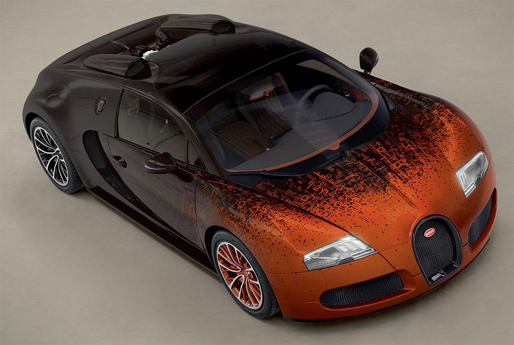 Bugatti Veyron Grand Sport Venet Desktop Background