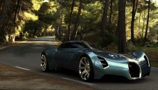 Bugatti Aeolithe Concept Car Futuristic Design HD Wallpaper For Iphone