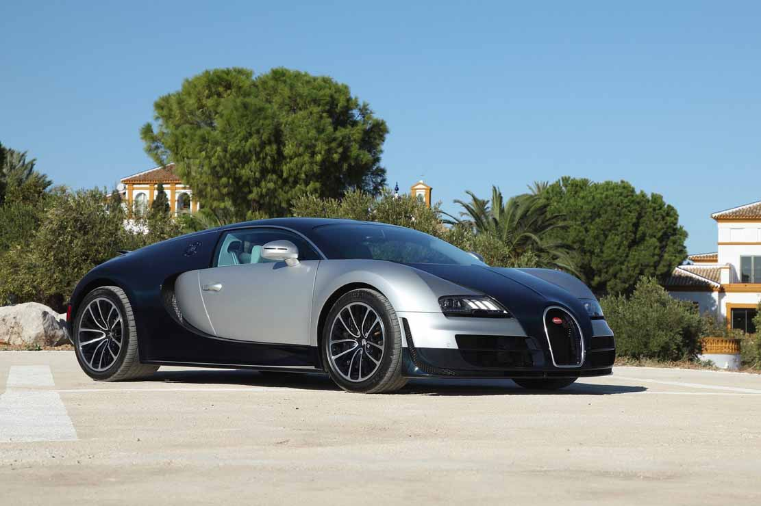 Photo Bugatti Veyron Super Sport Desktop Background
