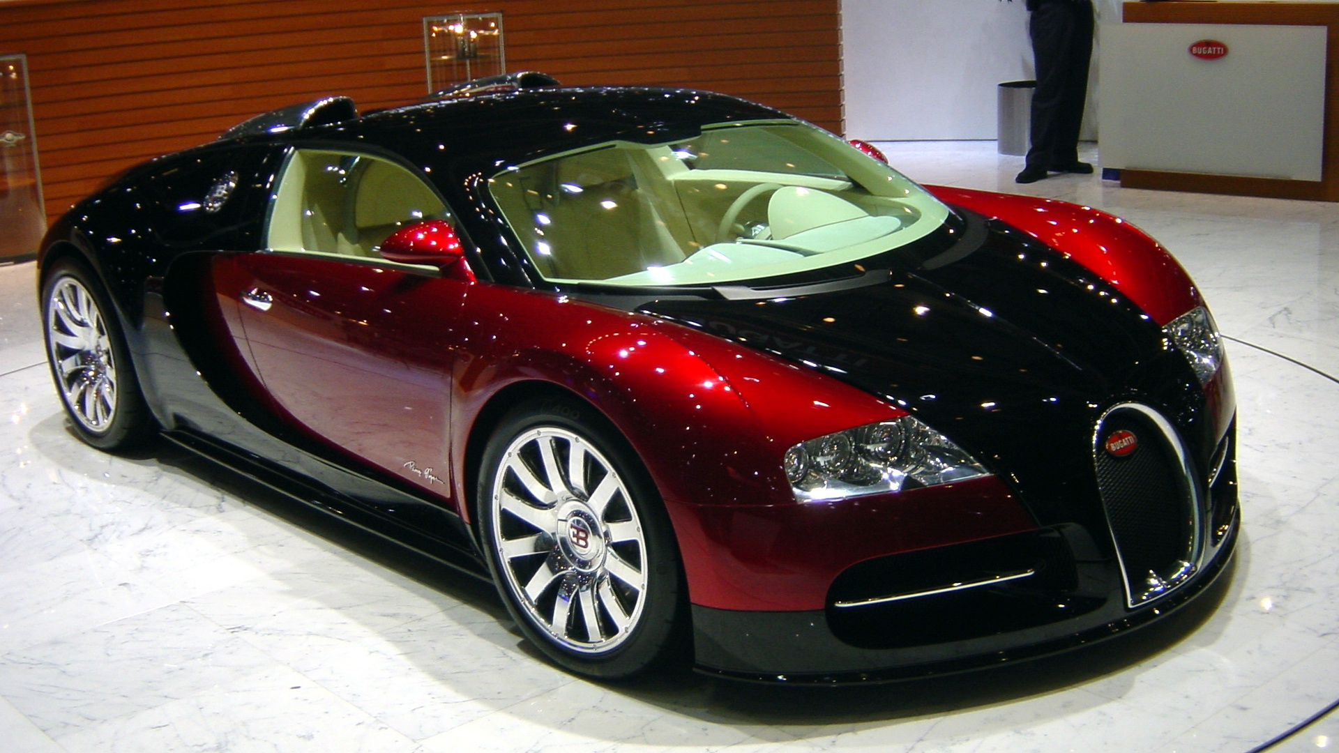 Bugatti Veyron Salon HD Wallpapers Backgrounds For Your Desktop