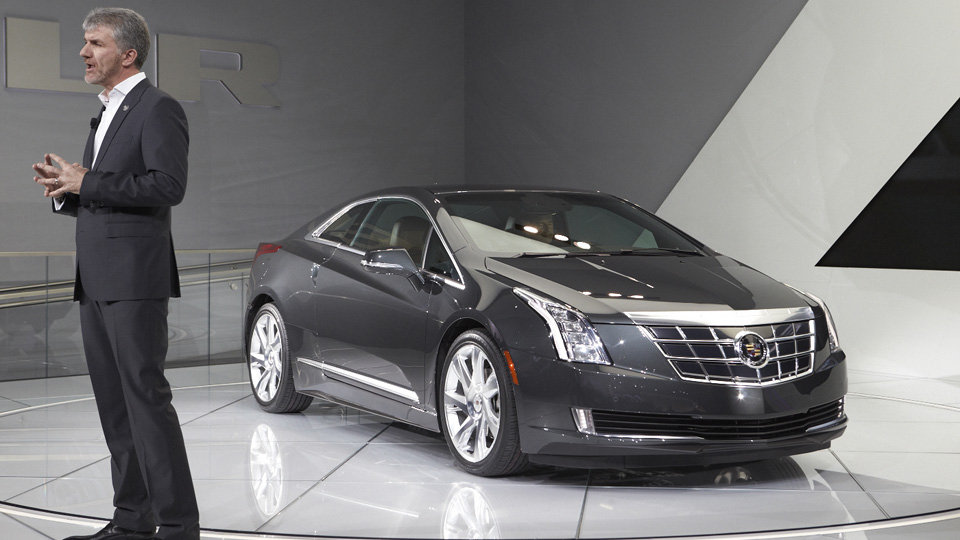 Four Years Ago in Detroit Cadillac Top Unveiled The Converj Concept anWallpapers HD