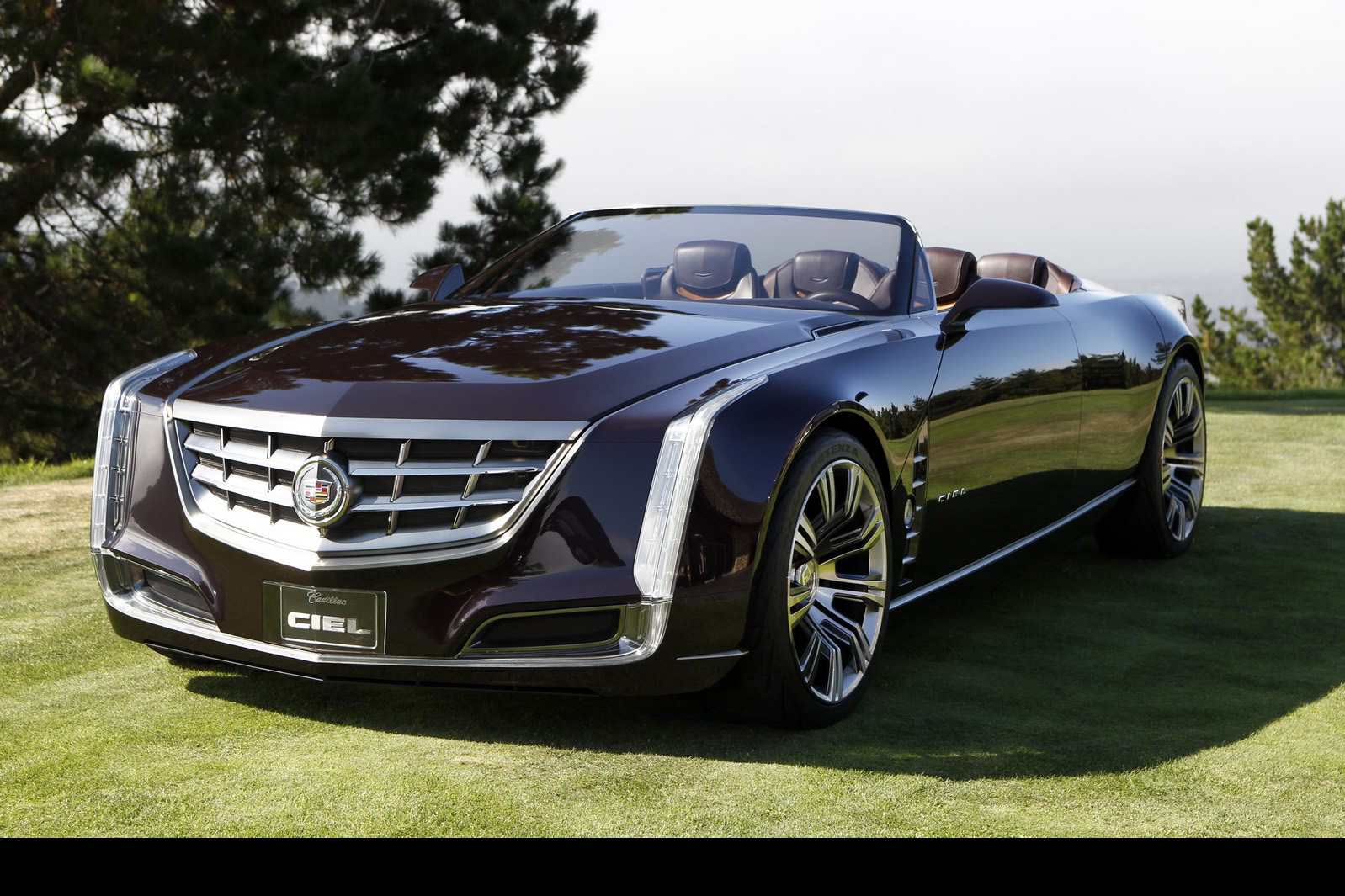 New Cadillac Ciel Cabrio 4-door Convertible Concept Wows Pebble Beach CrowdWallpapers HD
