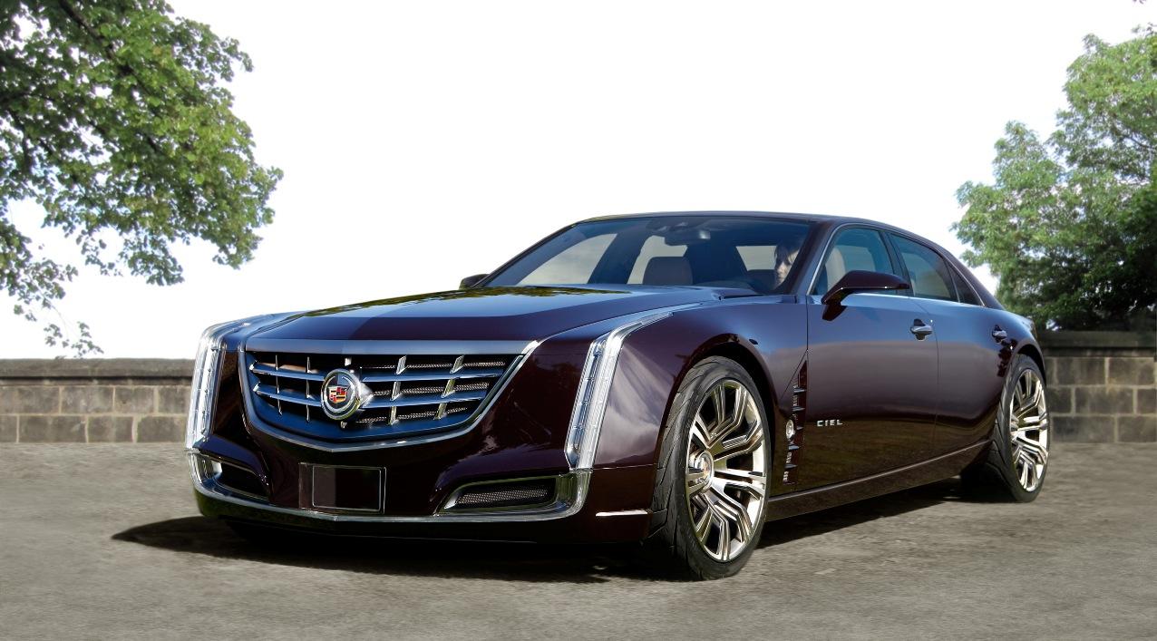 Cadillac Ciel Sedan Rendered Putting a Top On Caddys Stunning Desktop Background Wallpaper