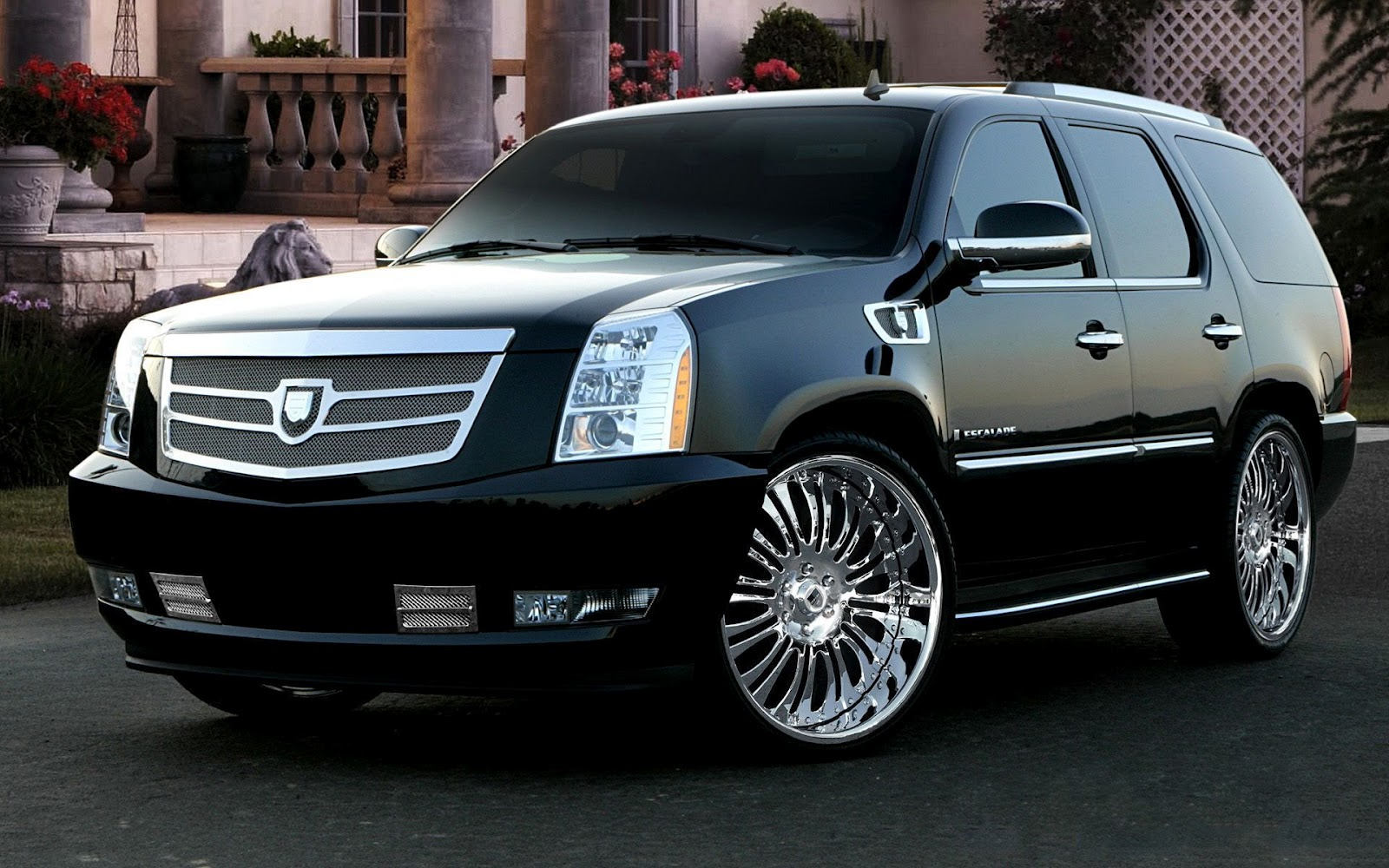 Cadillac Escalade Fondos de Pantalla de Todoterrenos Wallpaper For Background