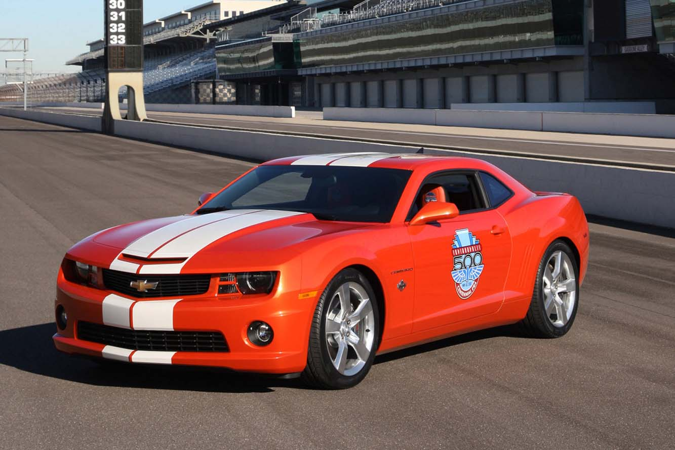 Chevrolet Camaro SS Indy 500 Pace Car Photos Wallpaper For Background