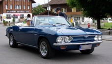 Chevrolet Corvair BW 3 Wallpaper Backgrounds