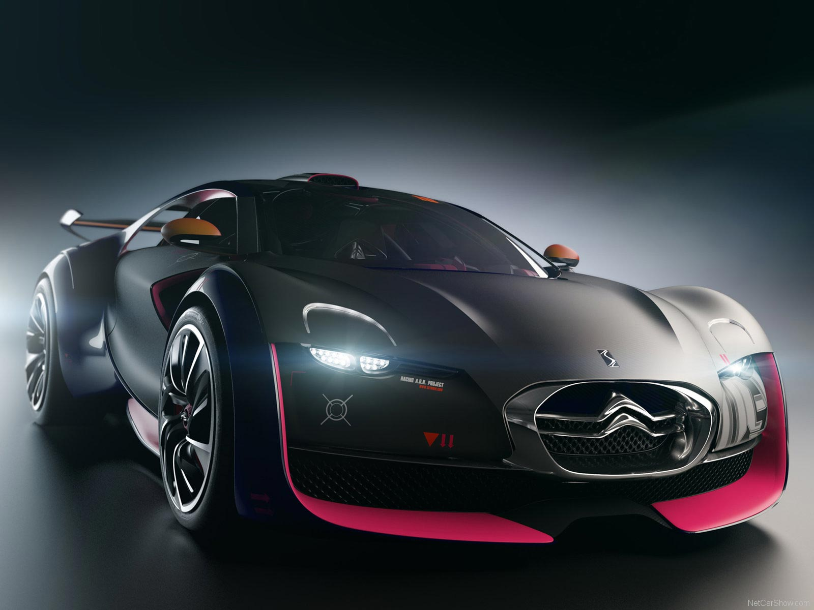 Citroen Survolt Concept Front Car Wallpaper Free Backgrounds