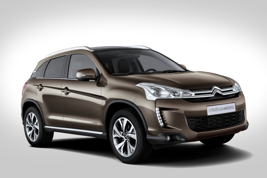 Citroen C4 Air Cross Neues Kompakt SUV Wallpapers HD