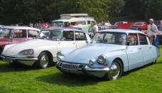 Citroen DS 19 ca 1965 Gregarious at Castle Hedingham 2008 Wallpapers For Background