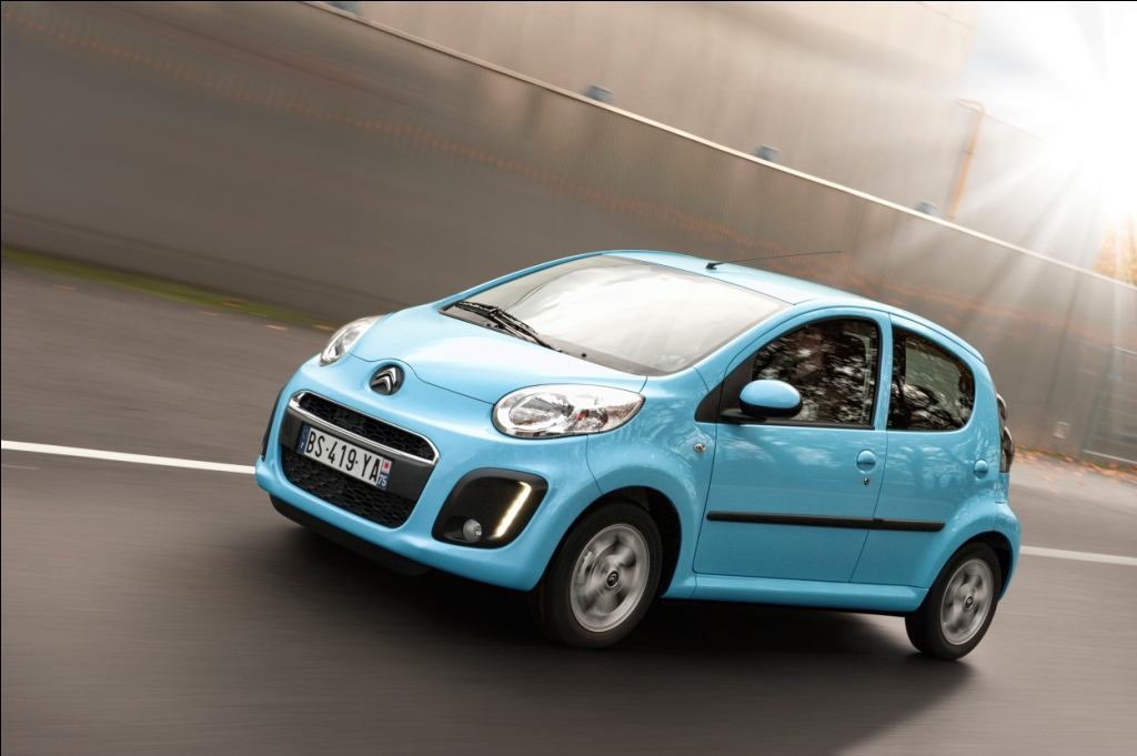 Der Neue Citroen C1 Mit Facelift 2012 The New Model Wallpapers Desktop Download Wallpaper