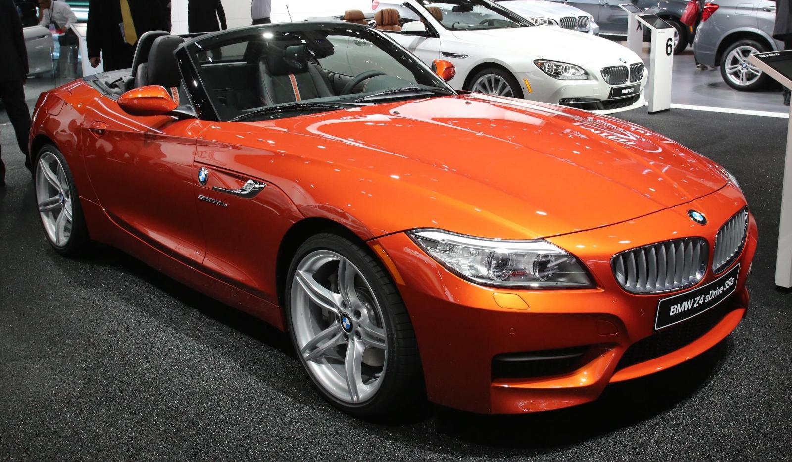 Detroit 2013 BMW Z4 Facelift Roadster Desktop Backgrounds
