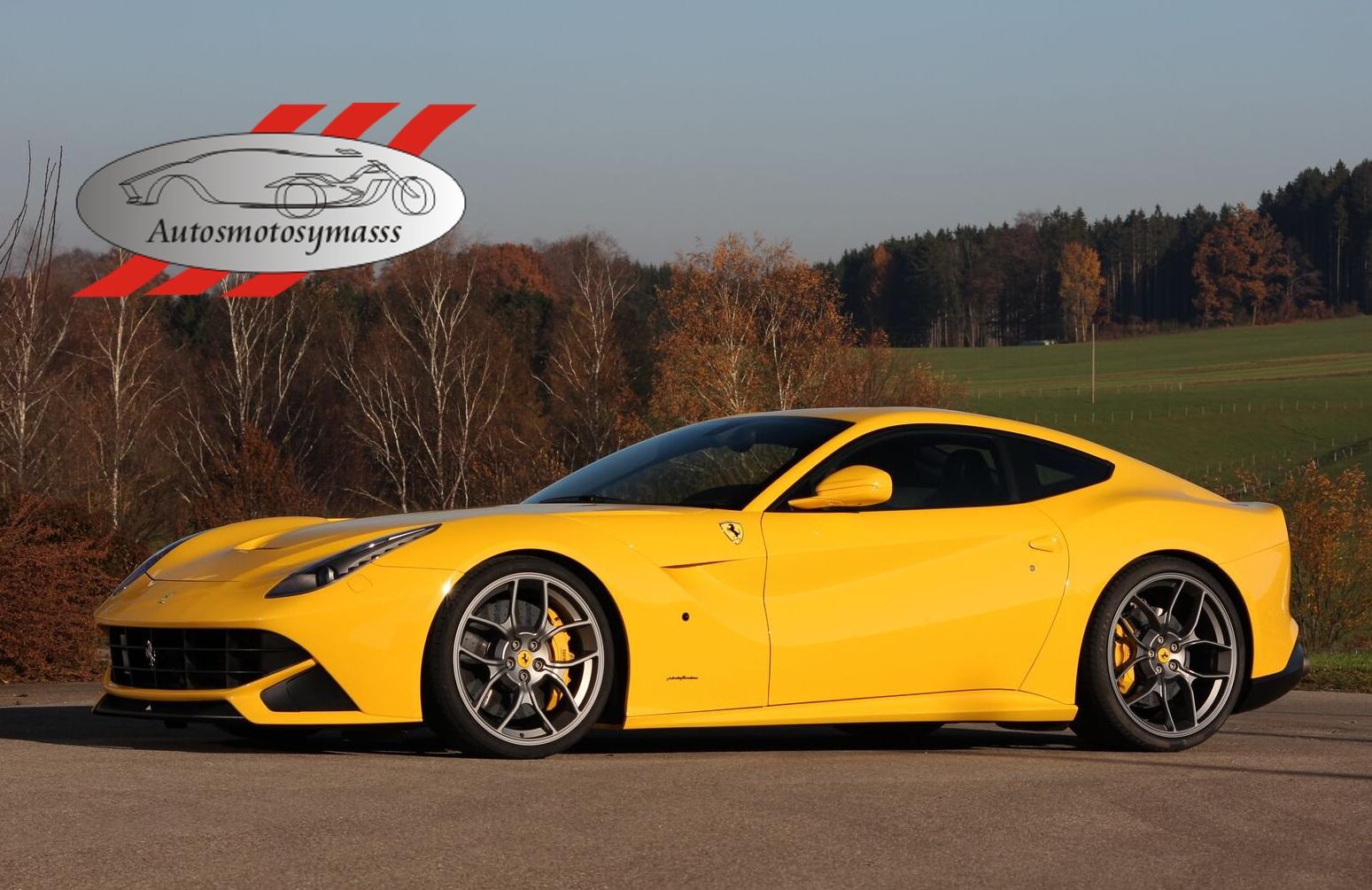Ferrari FF GfG F12 Novitec Rosso Wheels en el SEMA Car Wallpaper HD