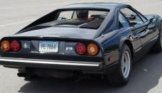 Ferrari 308 GTB Black Rear Angle World Cars Wallpaper For Ipad