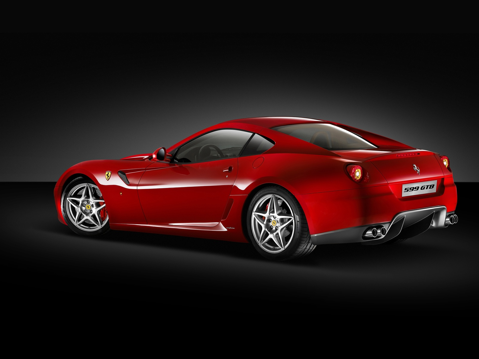Ferrari 599 GTB Fiorano Seit World Cars Desktop Background