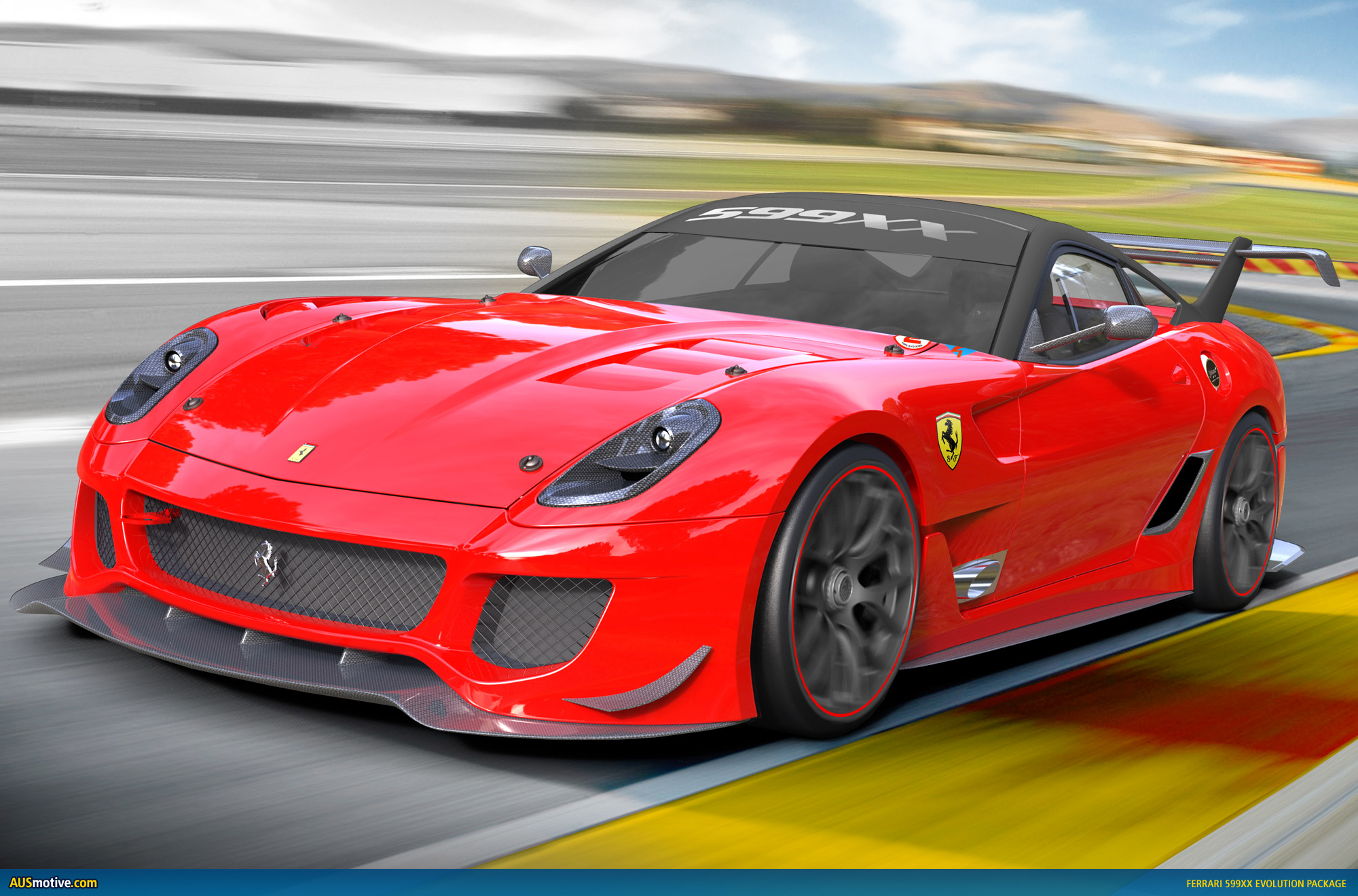 Ferrari 599XX Evolution Package Wallpaper HD