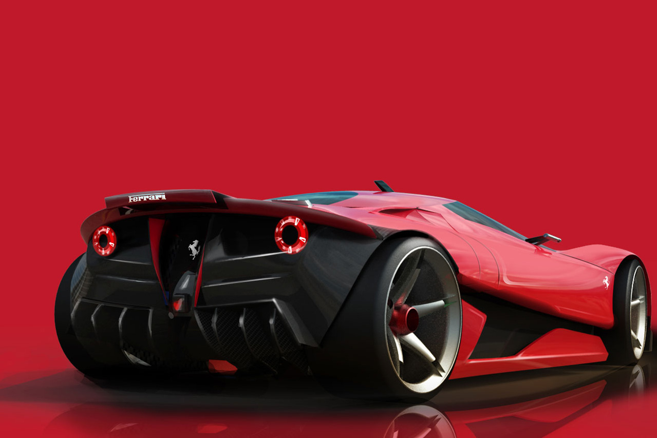 Ferrari EGO Concept HD Wallpaper World Cars Desktop Background