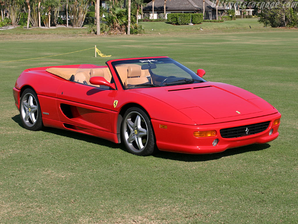 Ferrari F355 Spider High Resolution Image Wallpapers HD