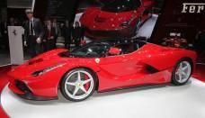 Ferrari LaFerrari Left Side View World Cars Desktop Background
