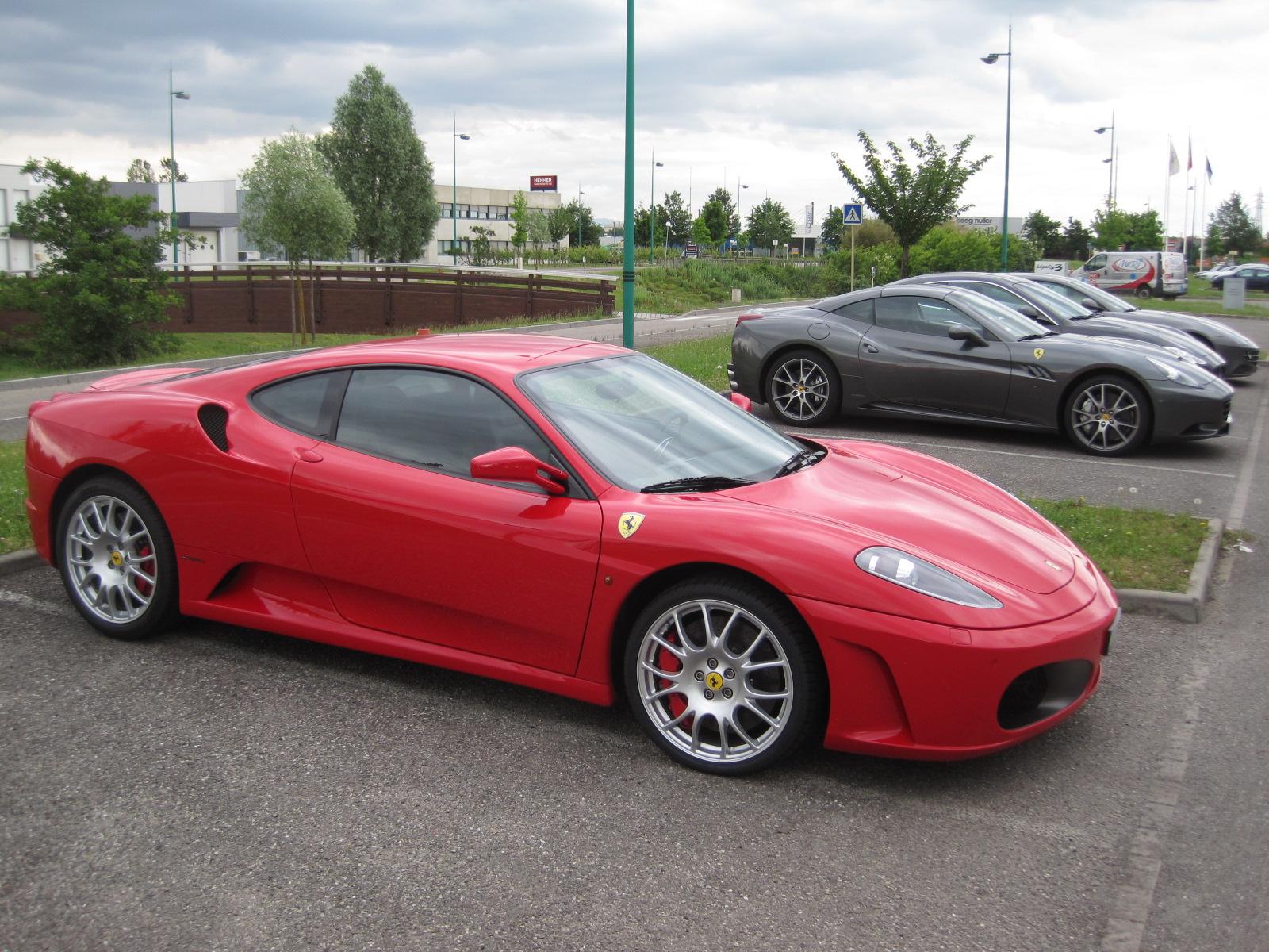 Ferrari F430 0001 World Cars Desktop Background