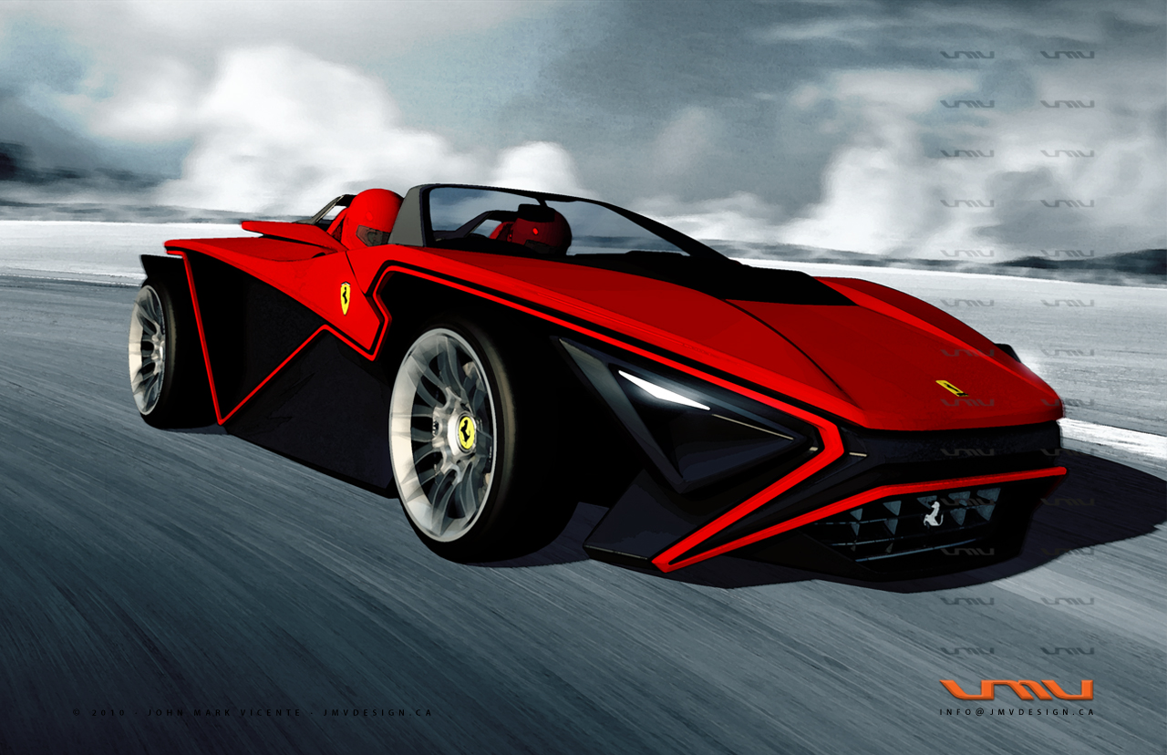 Ferrari Imola env 2 Design World Cars Desktop Background