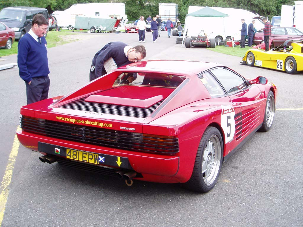 Ferrari Testarossa Track day at Castle Combe Circuit  World Cars Free Download Image Of
