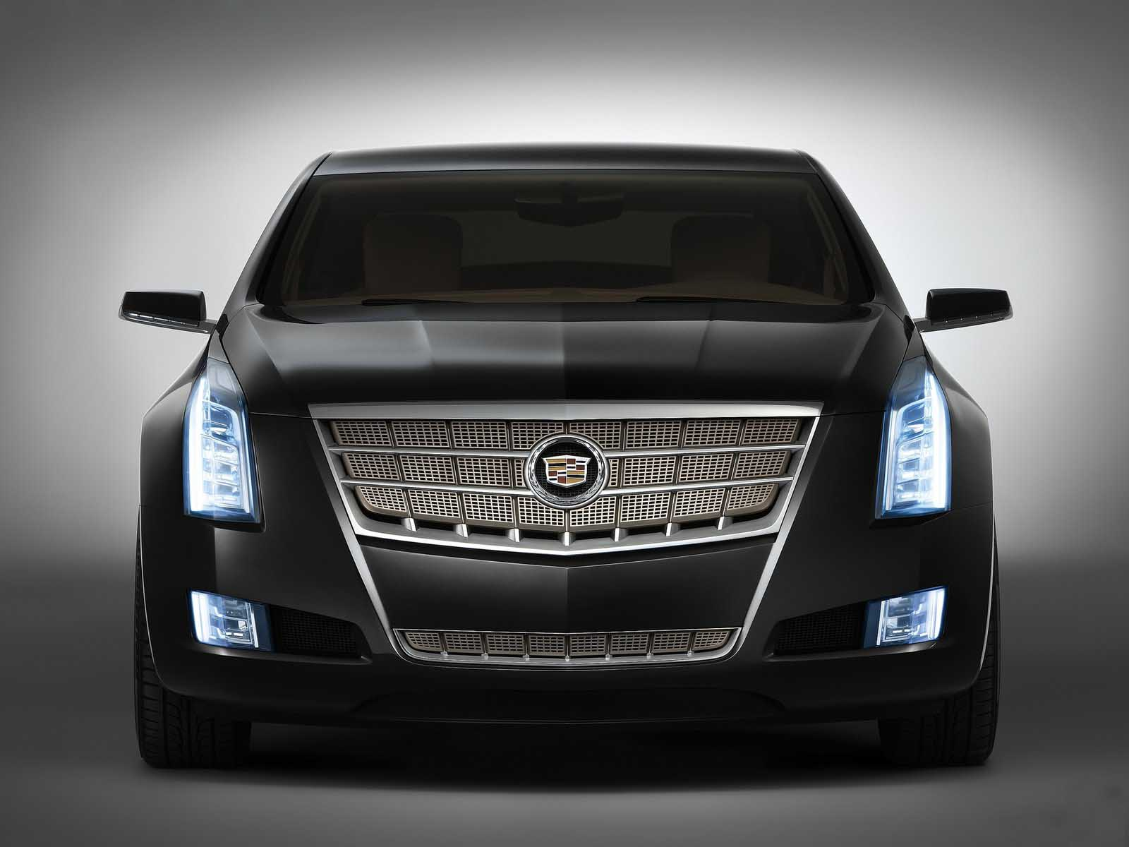 Foto Detalle Frontal Auto Cadillac XTS Platinum Concept Wallpaper For Ios
