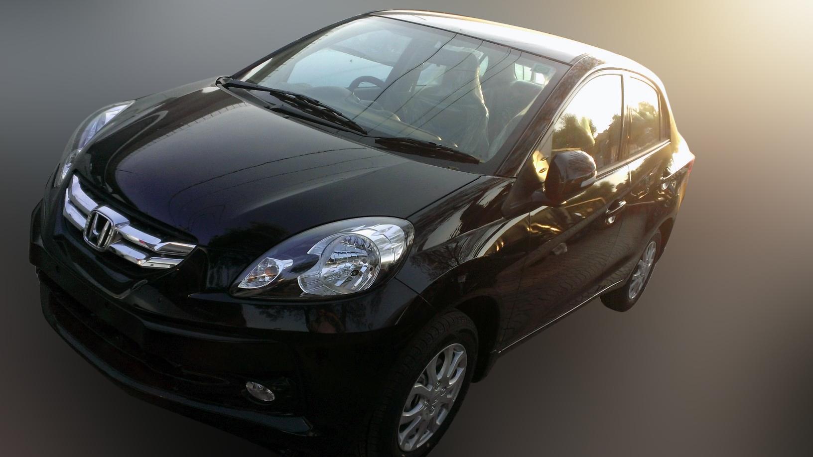 Honda Amaze Black Dealer Car Wallpapers Gallery Free