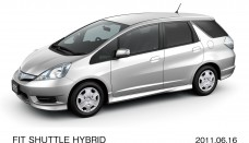 Honda New Fit Shuttle Hybrid Compact Cars Wallpaper For Iphone