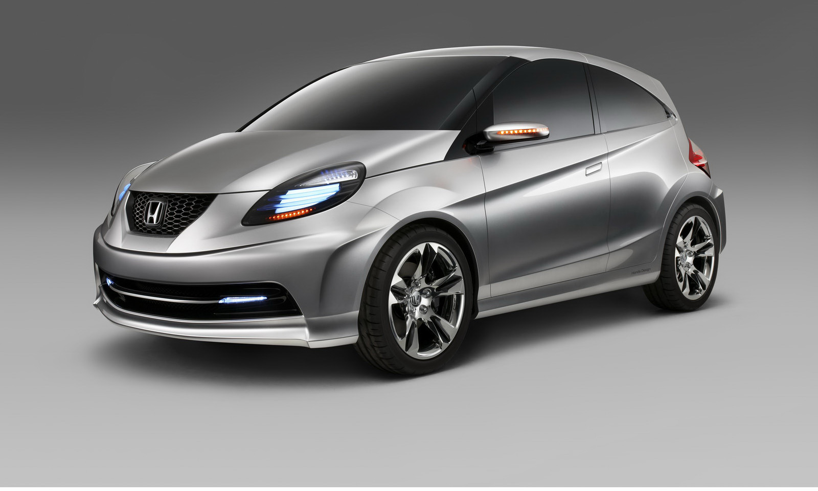 Honda Launches New Small Car Concept Wallpaper Download