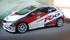 Honda Civic Type R Rally Car 2007 Wallpaper For Ipad