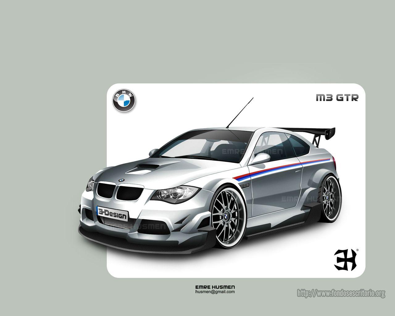 Wallpaper Bmw M3 GTR Serie For Ios