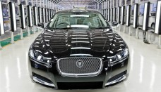 Indian Built Jaguar XF Saloon At Their Facility In Pune HD Desktop Background