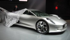 Jaguar C-X75 at the 2010 L.A. Auto Show Free Download Image Of