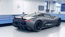 Jaguar C-X75 A Technological Pioneer Autosaur Wallpaper Download