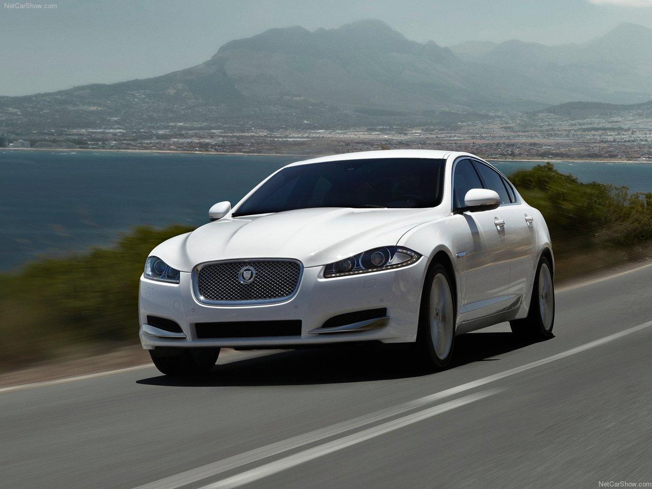 Jaguar XF 2012 Wallpaper Desktop Background