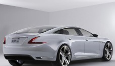 Jaguar XS Rendering HD Desktop Background
