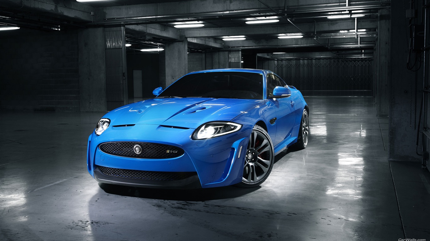 Jaguar Blue Car Wallpaper Download For Phone