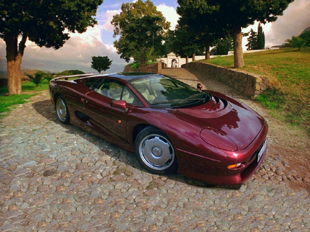 Jaguar XJ220 01 Cars Wallpaper For Android