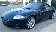 Jaguar XK8 Cabriolet Front HD Desktop Background