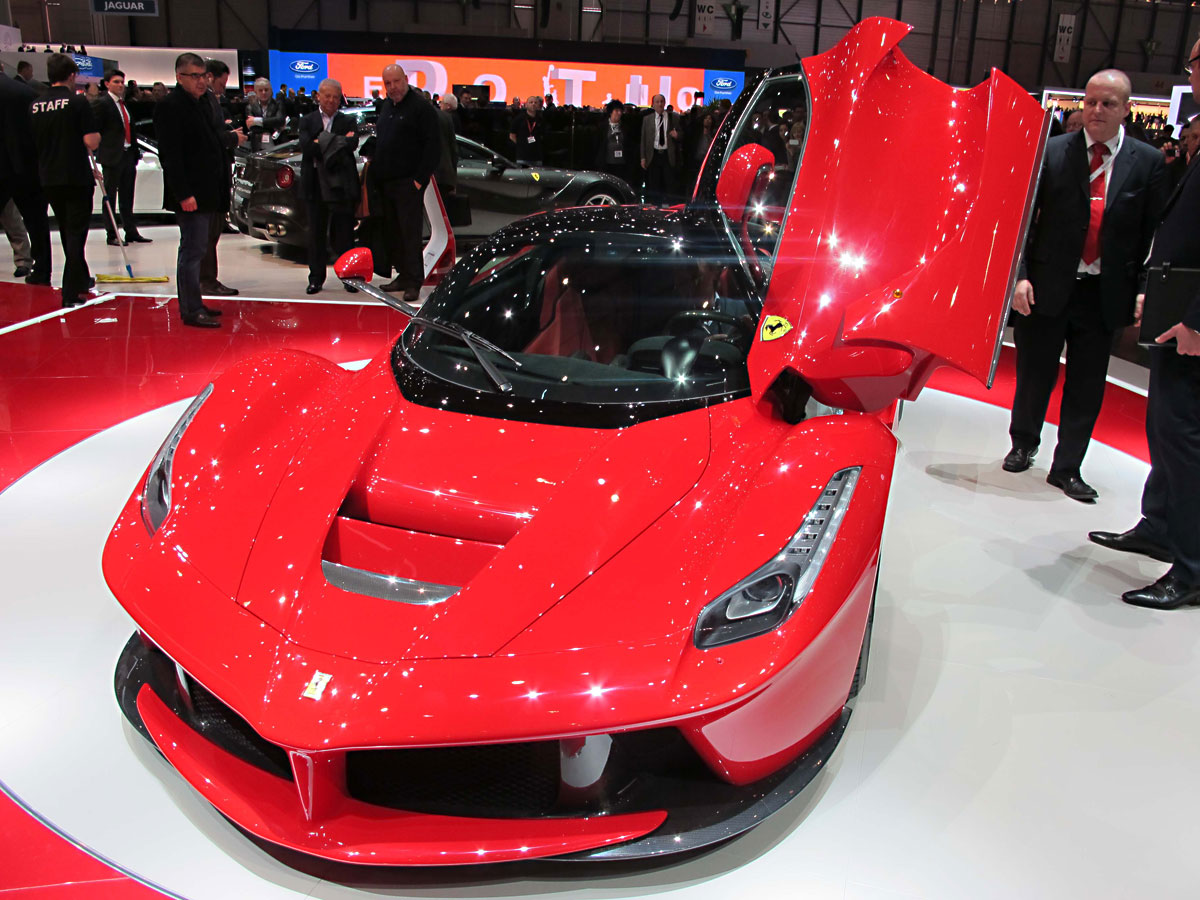 Ferrari LaFerrari at Geneva Motor Show 2013 World Cars Wallpaper For Iphone